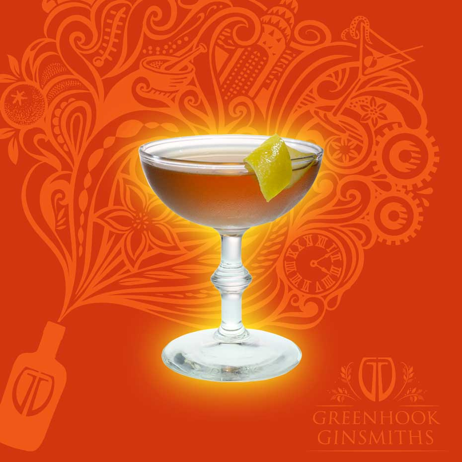 Greenhook Ginsmiths Cocktail The Martinez | greenhookgin.com