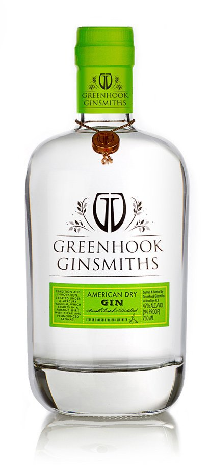 Greenhook Ginsmiths American Dry Bottle | greenhookgin.com