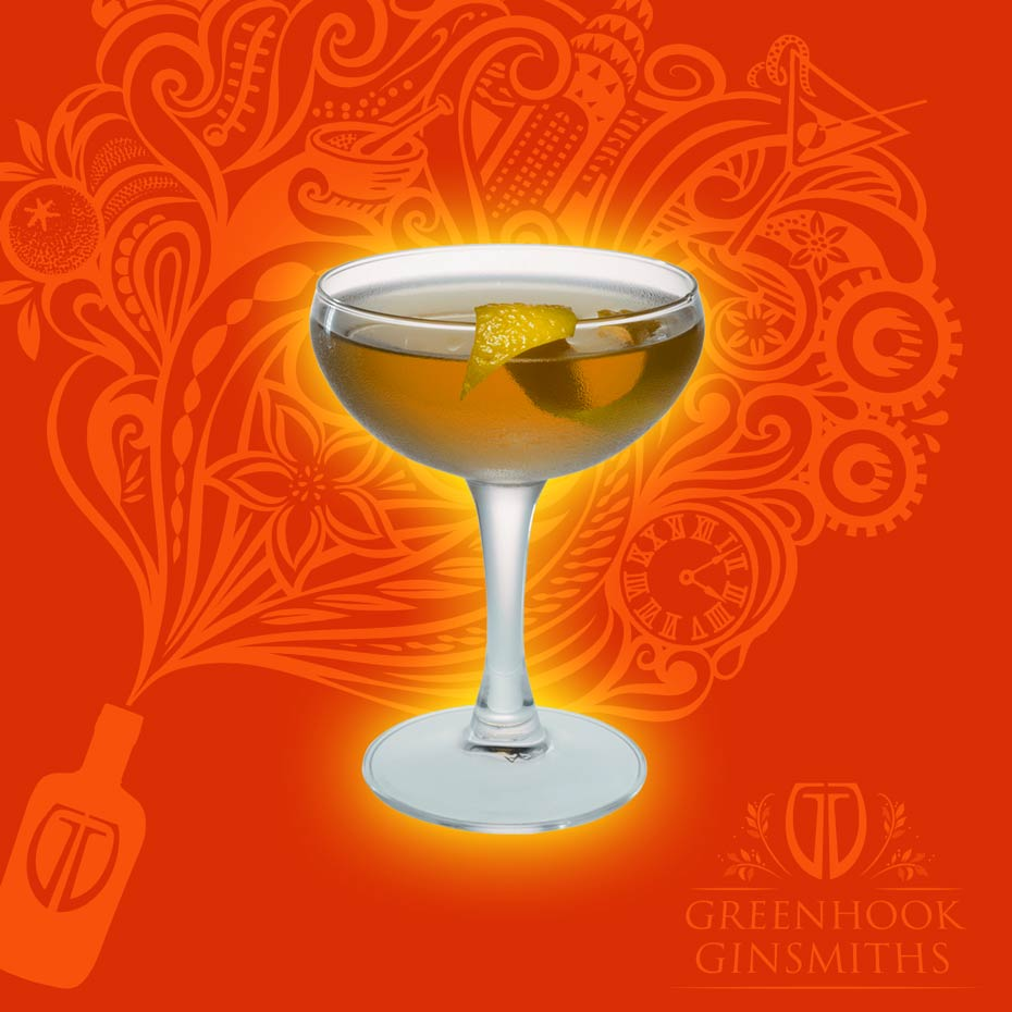 Greenhook Ginsmiths' Cocktail Tailspin | greenhookgin.com