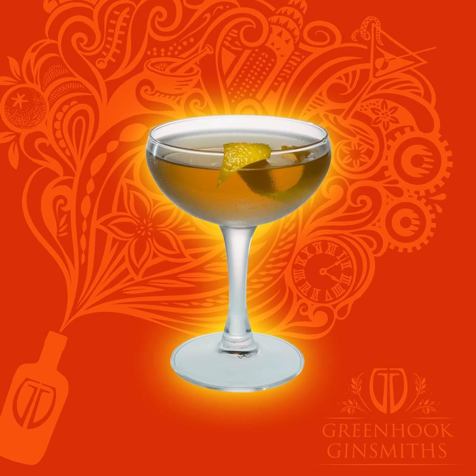 Greenhook Ginsmiths' Cocktail Tailspin | greenhookgin.com