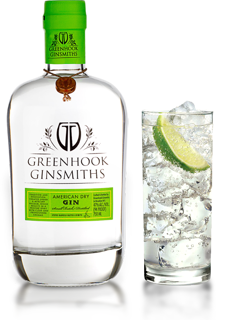 Greenhook Gin American Dry w/ Glass