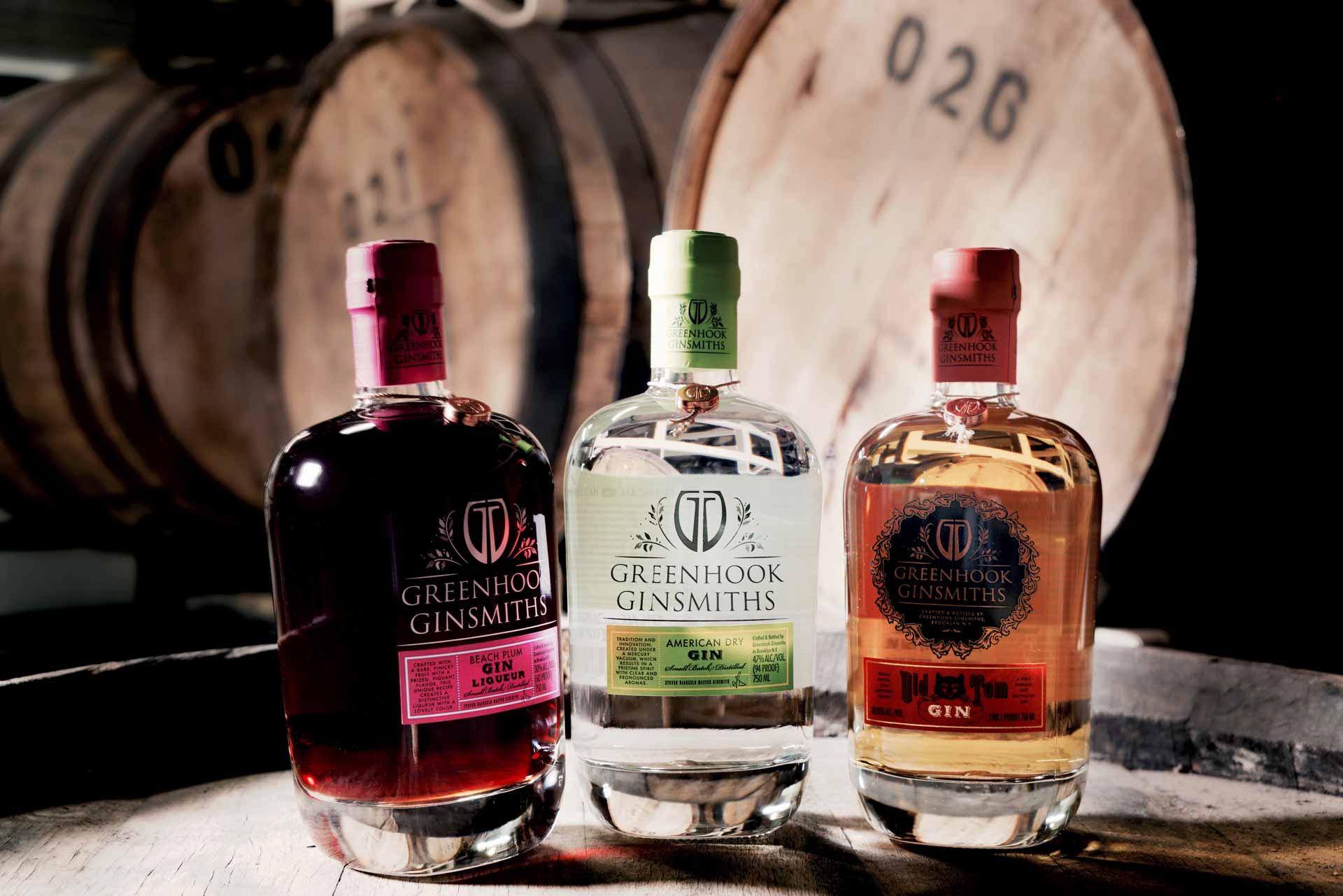 Greenhook Ginsmiths Gin Line Up | greenhookgin.com