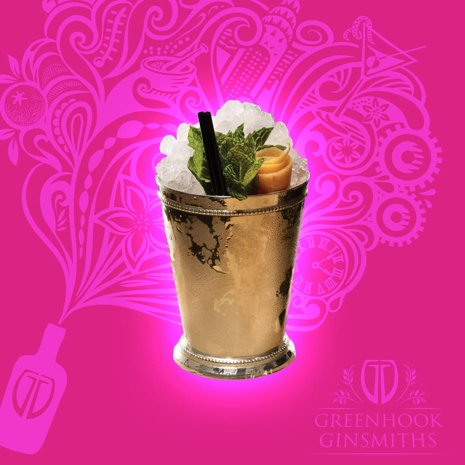 Greenhook Ginsmiths' Cocktail McCarren Julep | greenhookgin.com