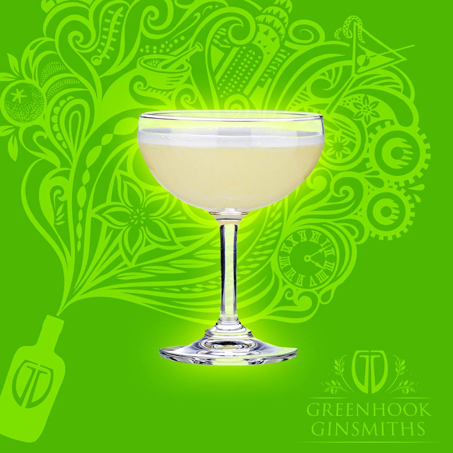 Greenhook Ginsmiths' Cocktail McGuinness Sour | greenhookgin.com